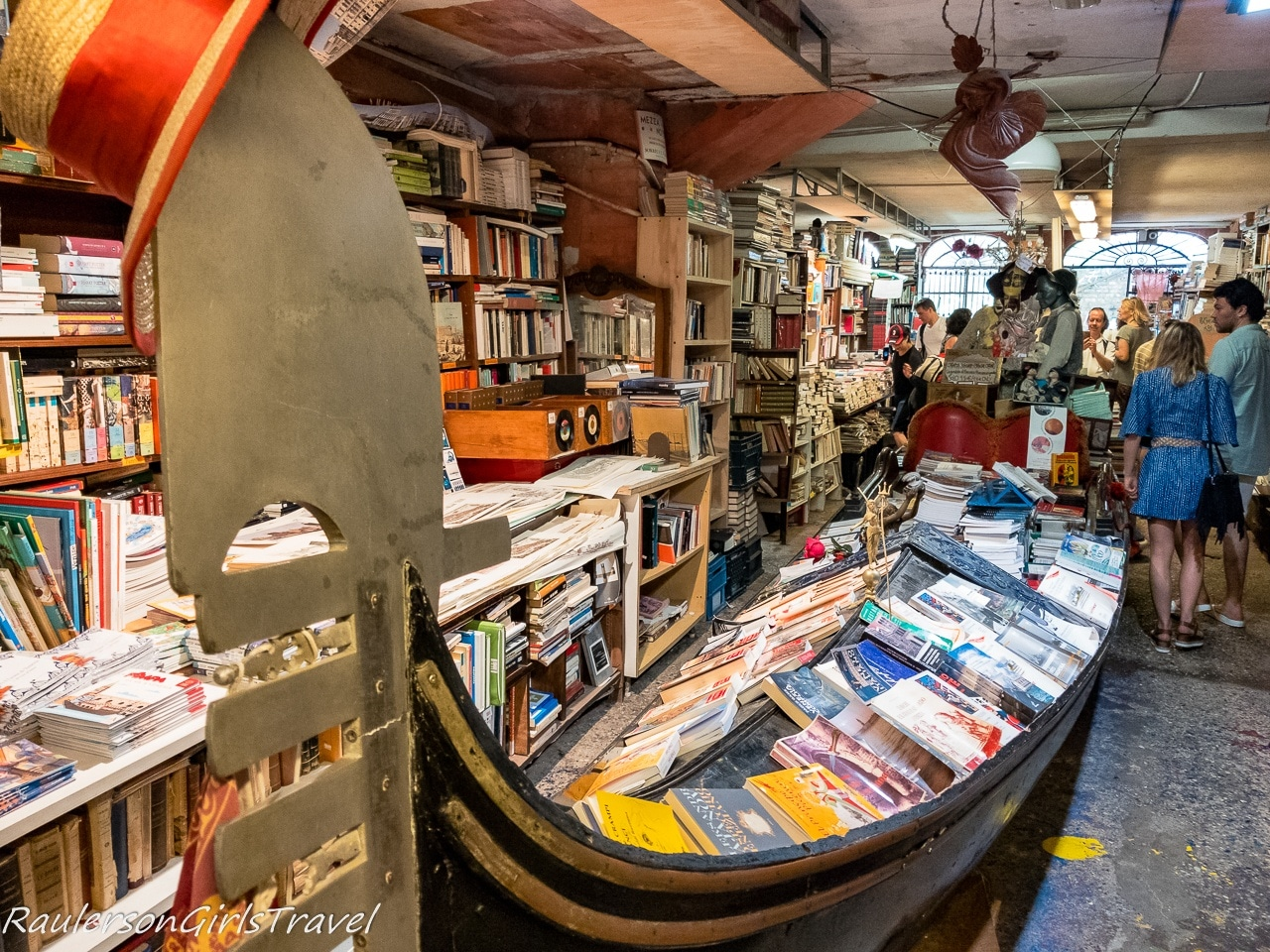 Libreria Acqua Alta in Venice - Bookstores Around the World