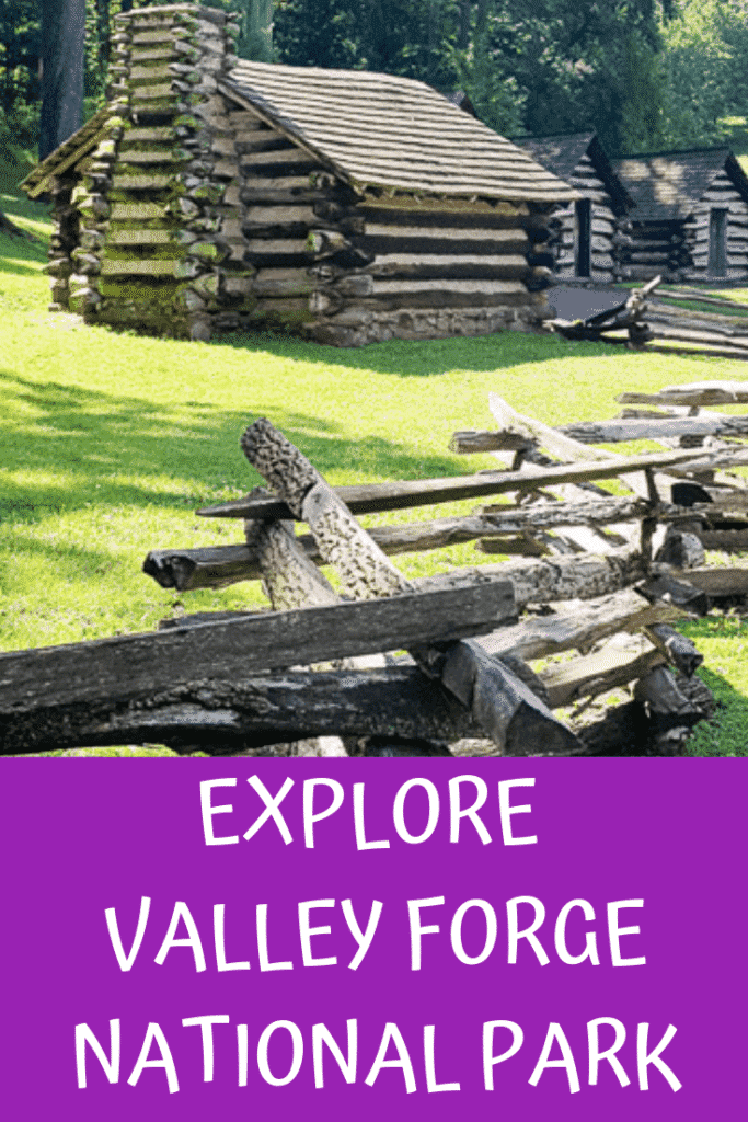 Valley Forge National Park Pinterest Pin