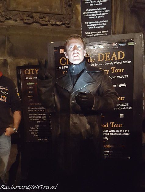 John the Tour Guide for the City of the Dead Ghost Tour in Edinburgh