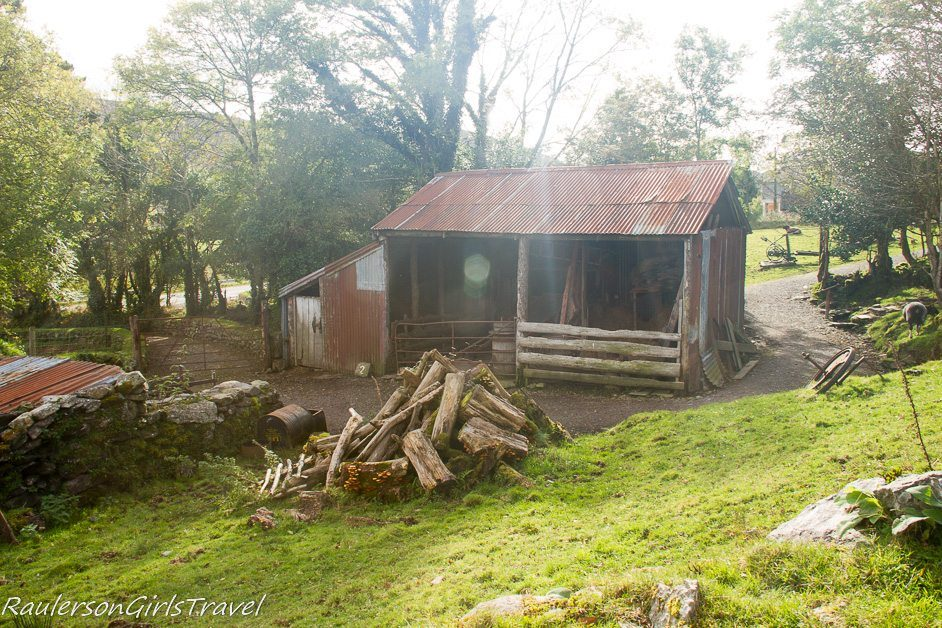 Farmyard at Molly Gallivan's Cottage and Traditional Farm
