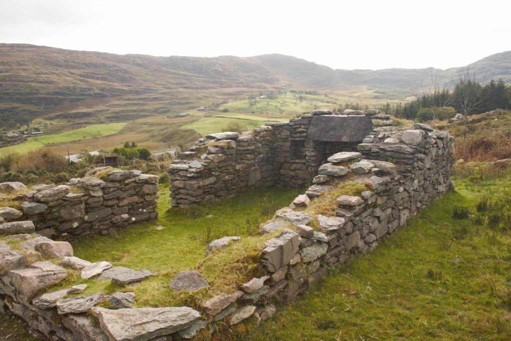 Famine Ruin home on Molly Gallivan's Farm