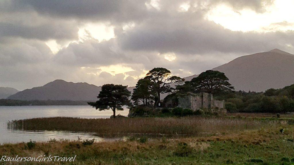 McCarthy Mór castle ruins in Killarney Ireland