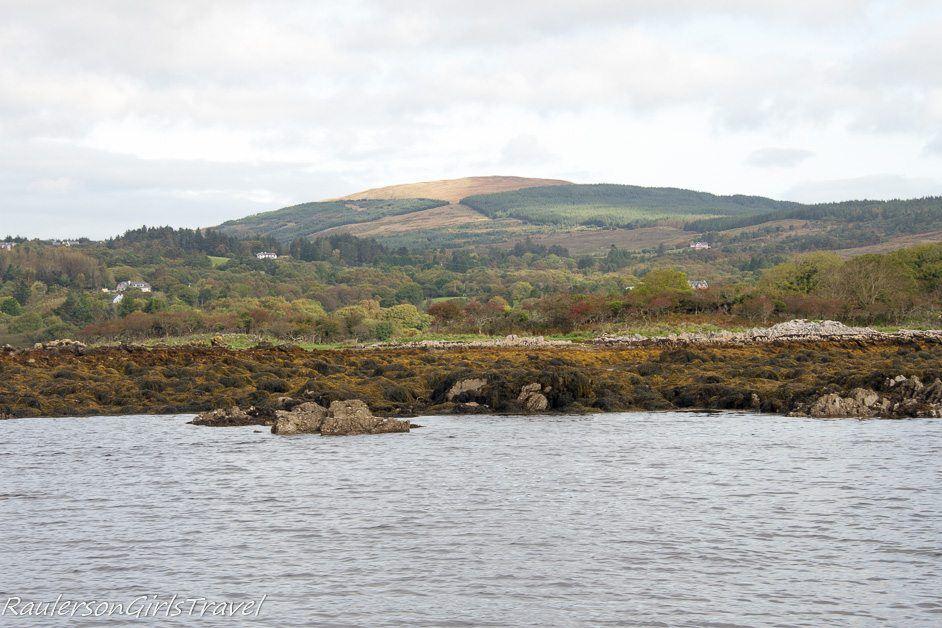Iveragh Peninsula coastline at Kenmare Bay