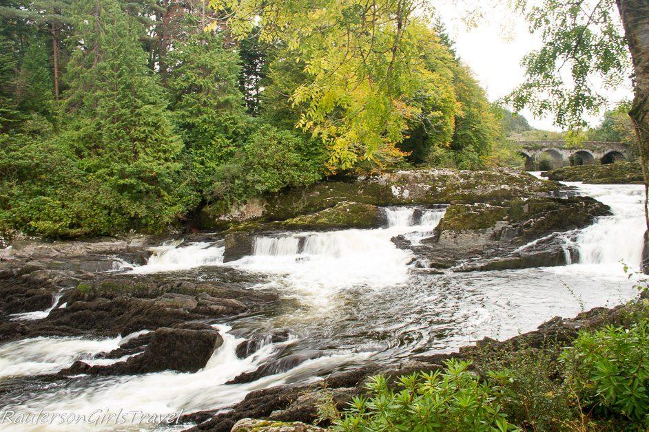 Sheen Falls in Kenmare Ireland