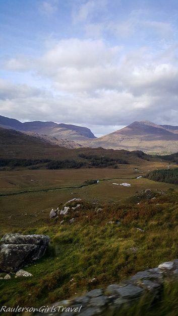 Gap of Dunloe along the Ring of Kerry