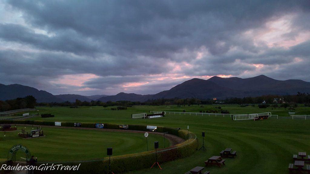 Sunset at Killarney Racecourse