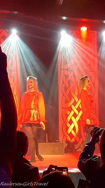 Irish dancers from Celtic Steps Killarney Ireland