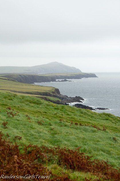 Cliffs along Slea Head Drive Fahan Ireland