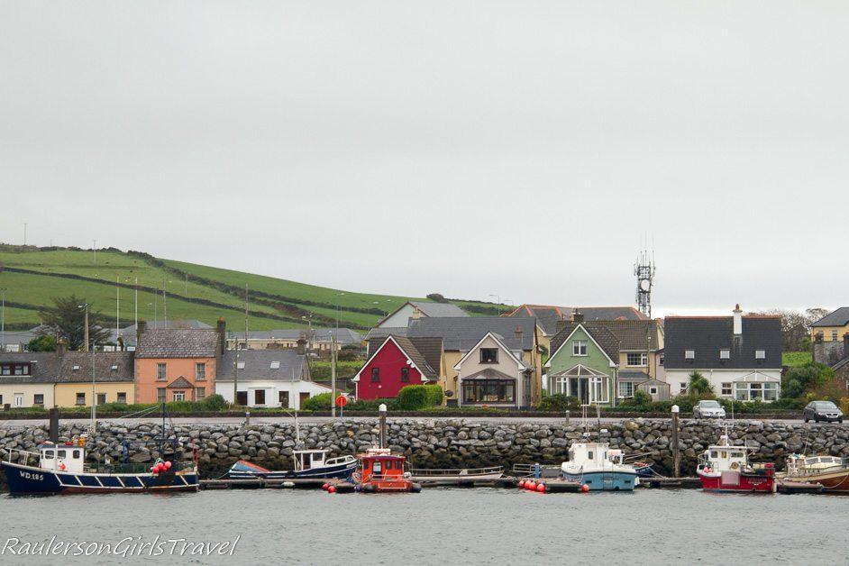 Dingle fishing village in Ireland
