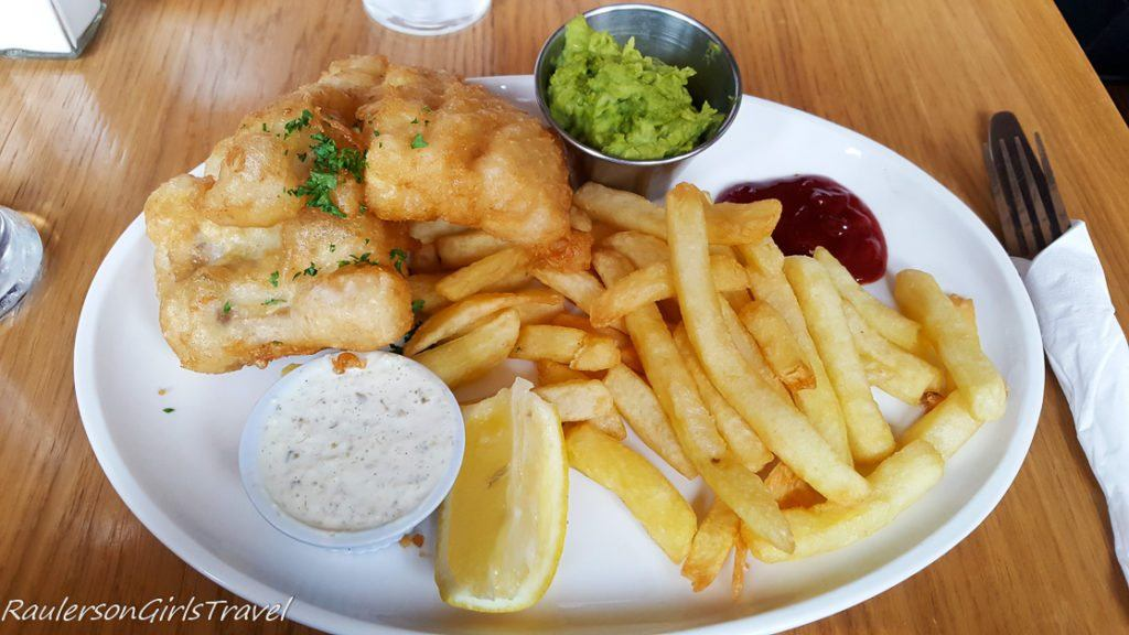 Fish and Chips at Dingle Bay Hotel