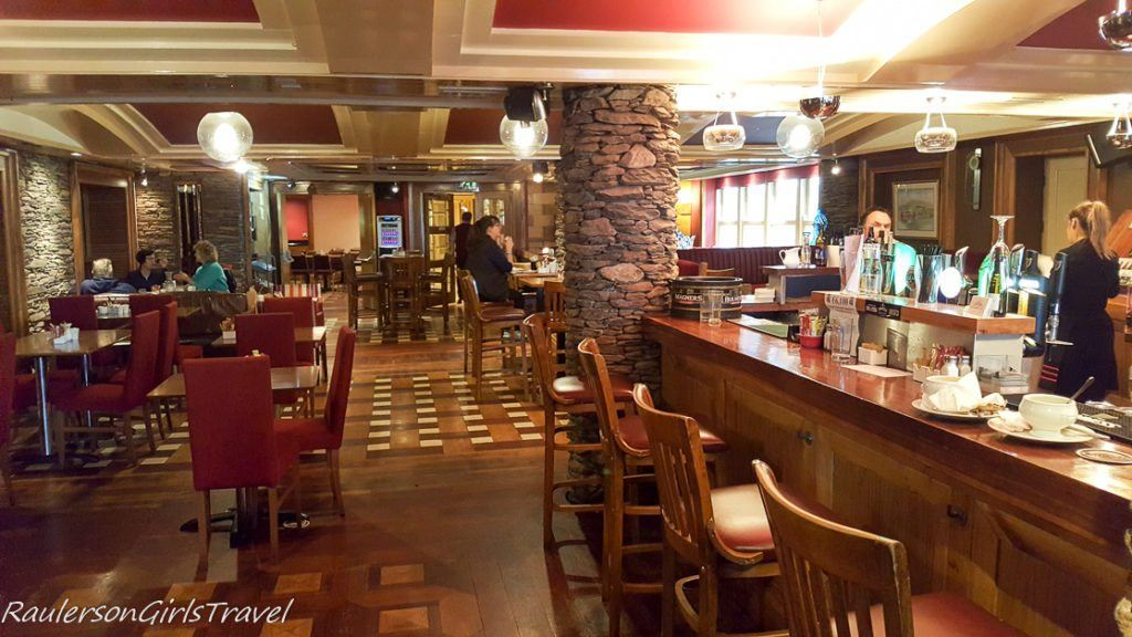 Paudie's Bar in the Dingle Bay Hotel