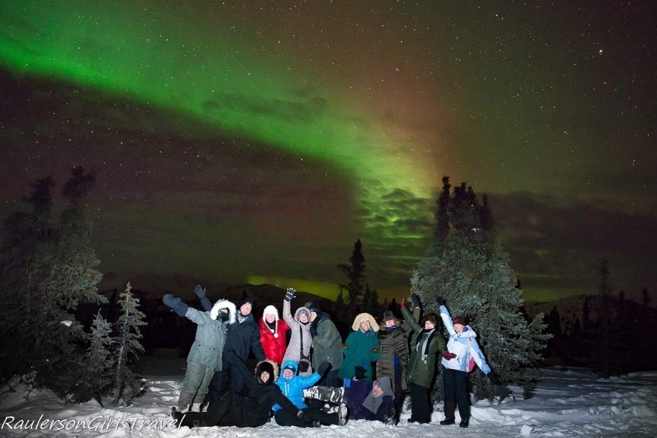 Great Escape Publishing Northern Lights Photography Tour Group