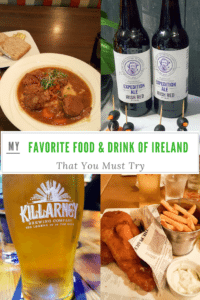 My Favorite Food and Drink of Ireland You Must Try pin