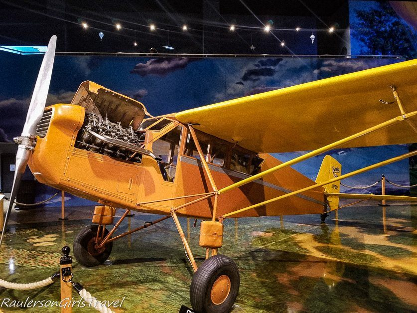 1928 Curtiss Robin at the Air Zoo Museum