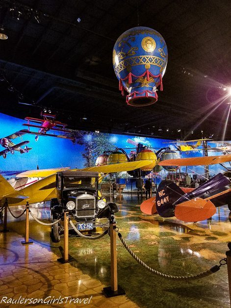 Planes, Cars, and Balloons at the Air Zoo Museum