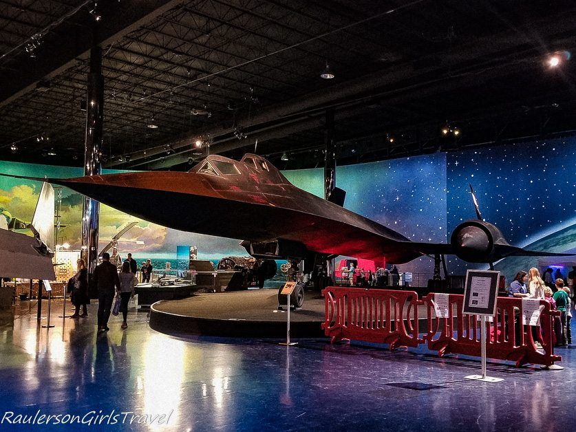 Lockheed SR-71B Blackbird at the Air Zoo Museum