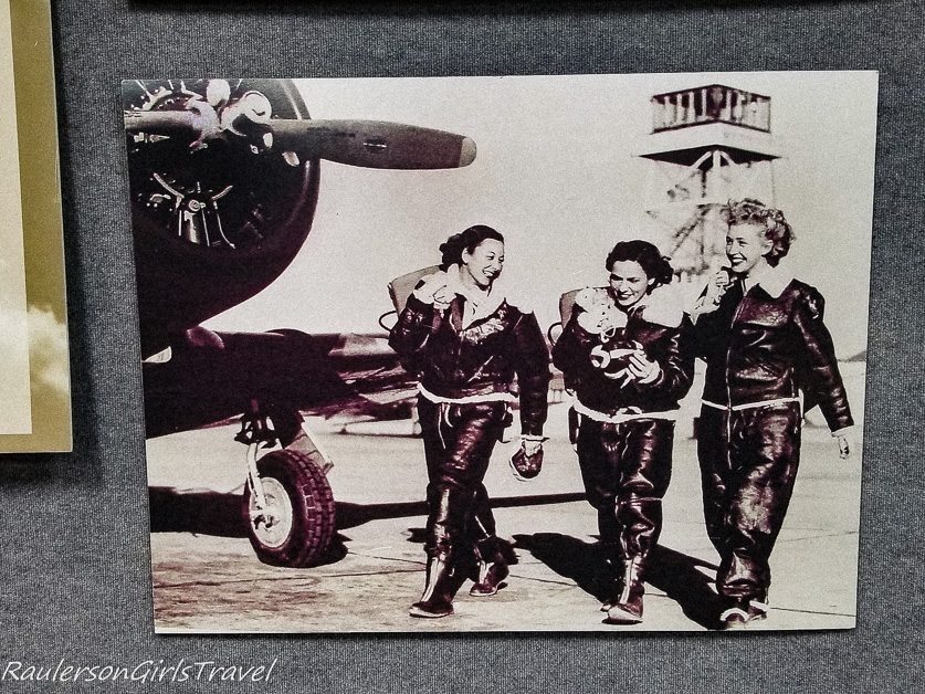 Women Air Force Pilots in World War II exhibit at the Air Zoo Museum