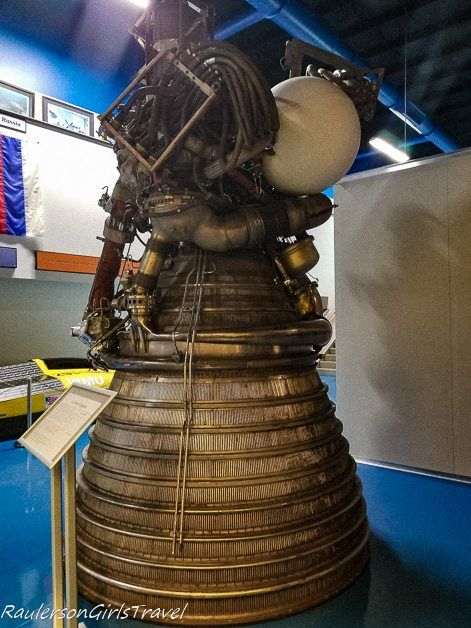 J-2 Rocket test engine for the Saturn V rocket at the Air Zoo Museum