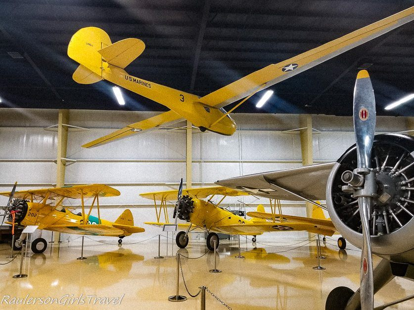 Michigan Aviation Hall of Fame in the East Wing of the Air Zoo