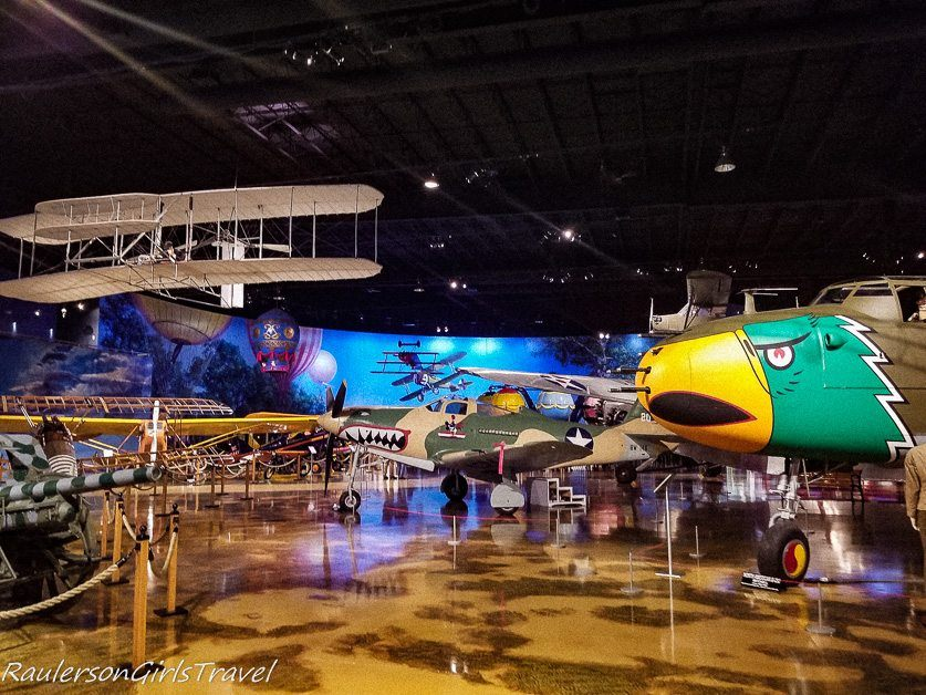 Planes and more planes at the Air Zoo Museum - Wings, Women, and Warriors