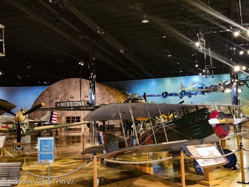 Air Zoo Museum Main Exhibit Floor