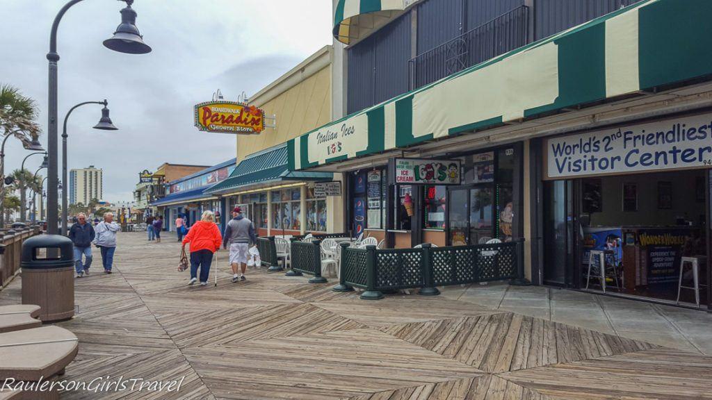 Boardwalk on Myrtle Beach