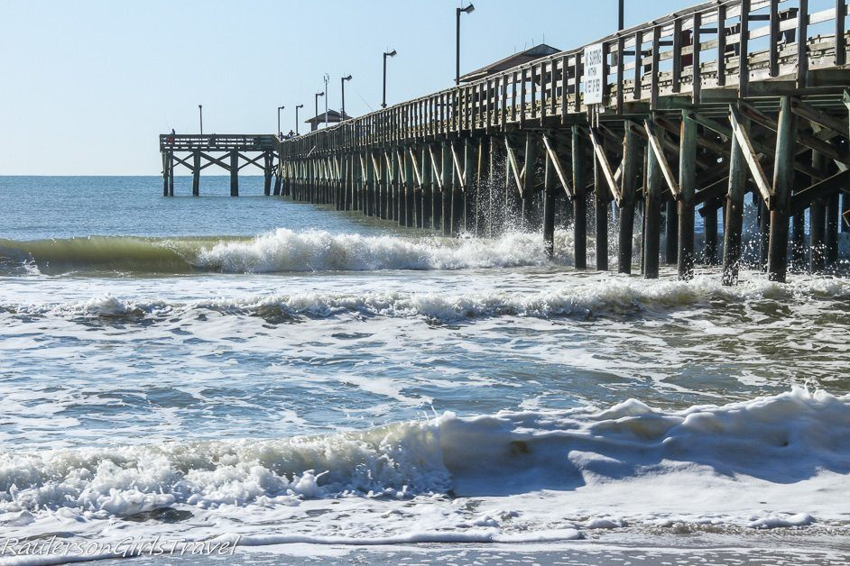Pier at Myrtle Beach - 2018 Travel Plans - World Traveler Here I Come!