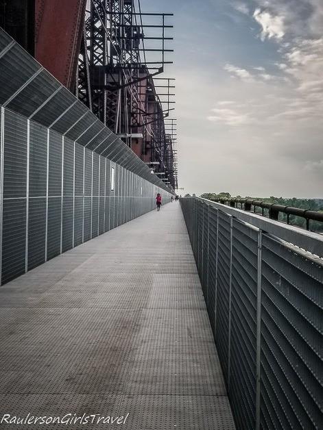 Big River Crossing bridge - Unique things to do in Memphis