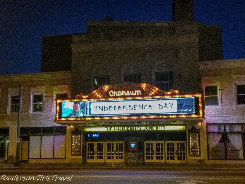 Haunted Orpheum on the Memphis Walking Ghost Tour