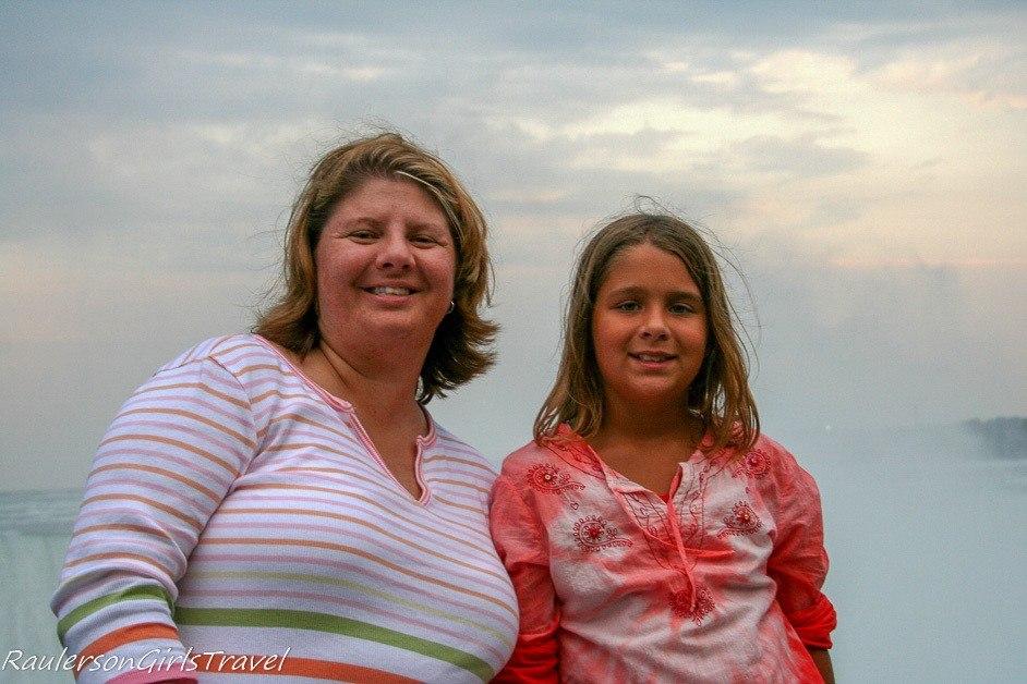 Kayla and I at Niagara Falls