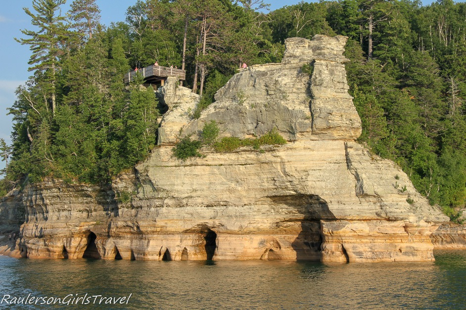 Miners Castle - Pictured Rocks Cruises