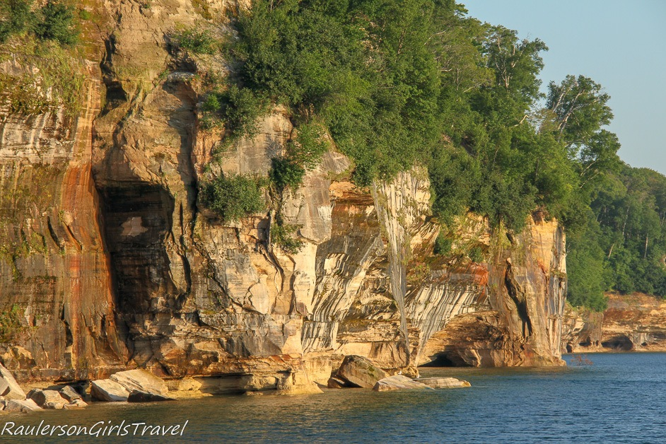 Pictured Rocks Rock Formations