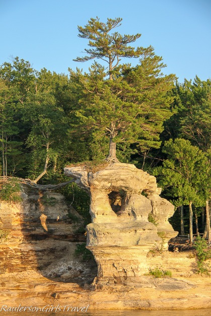 Chapel Rock - Pictured Rocks Cruises