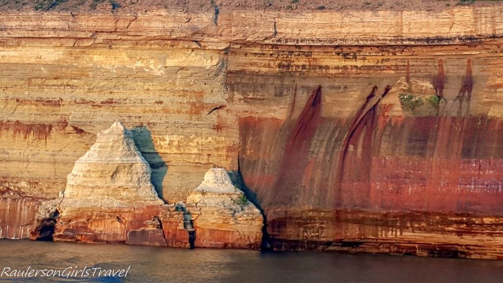 Painted Coves close up
