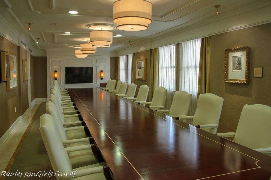 Detroit Athletic Club Boardroom