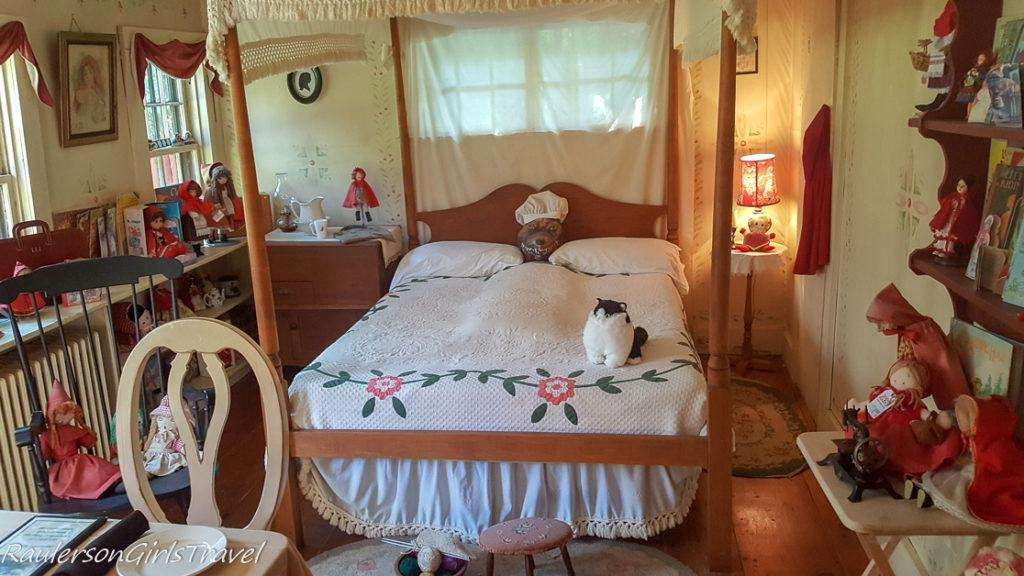 Big Bad Wolf in Grandma's Bedroom