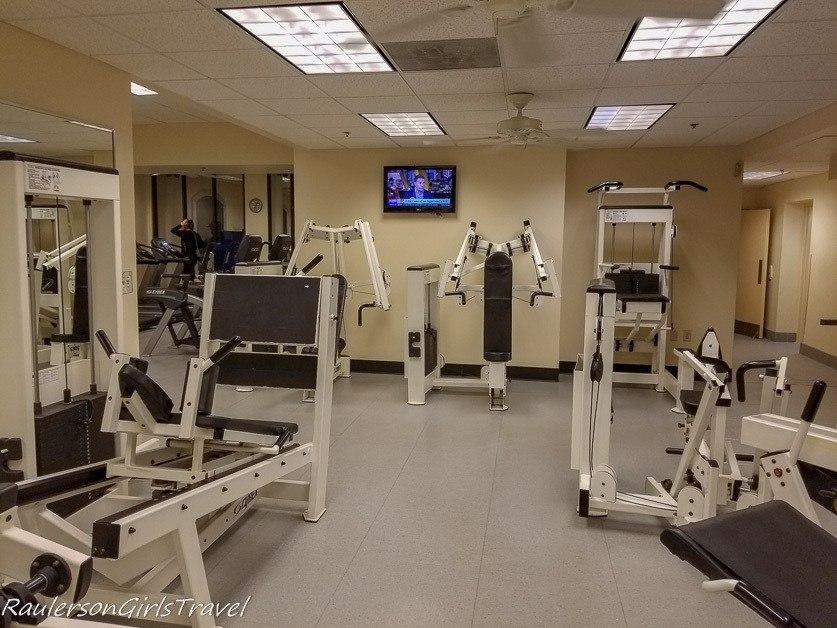 Athletic Club in the Peabody Hotel