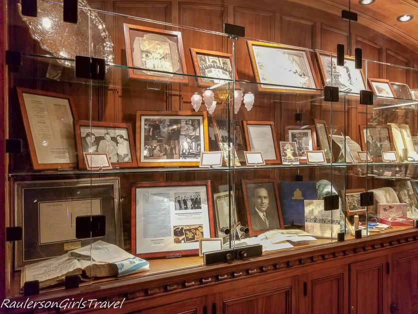The Peabody Memorabilia Room - History of the Peabody Hotel