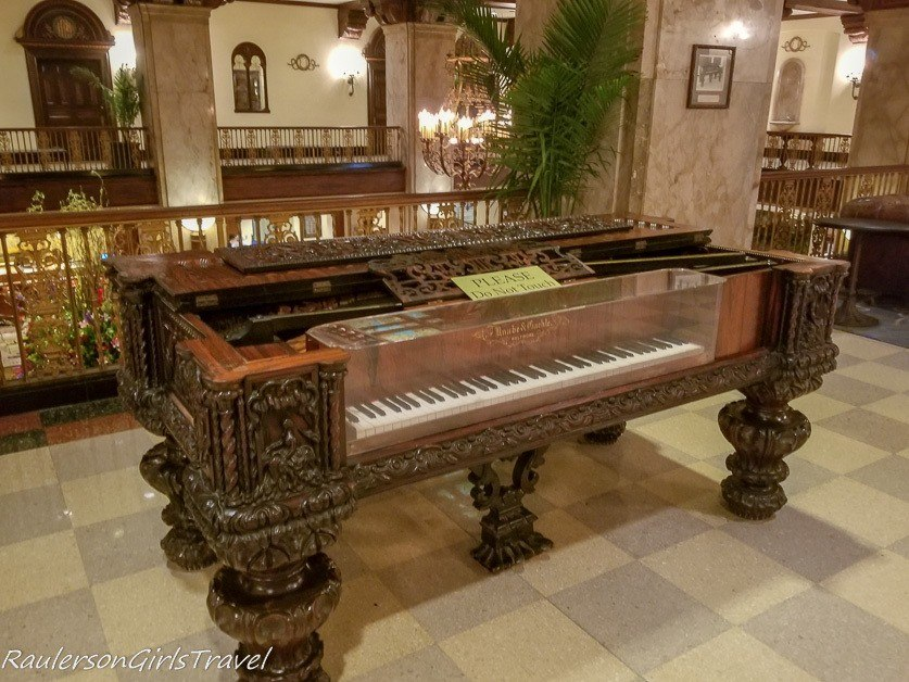 Grand Piano that built for Francis Scott Key at the Peabody Hotel