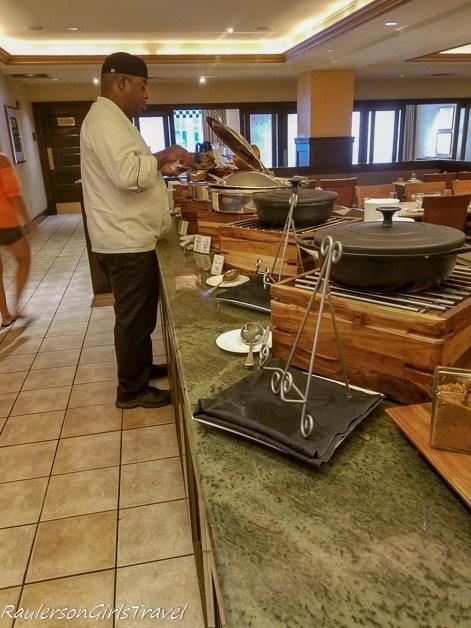 Breakfast Buffet at Capriccio Grill