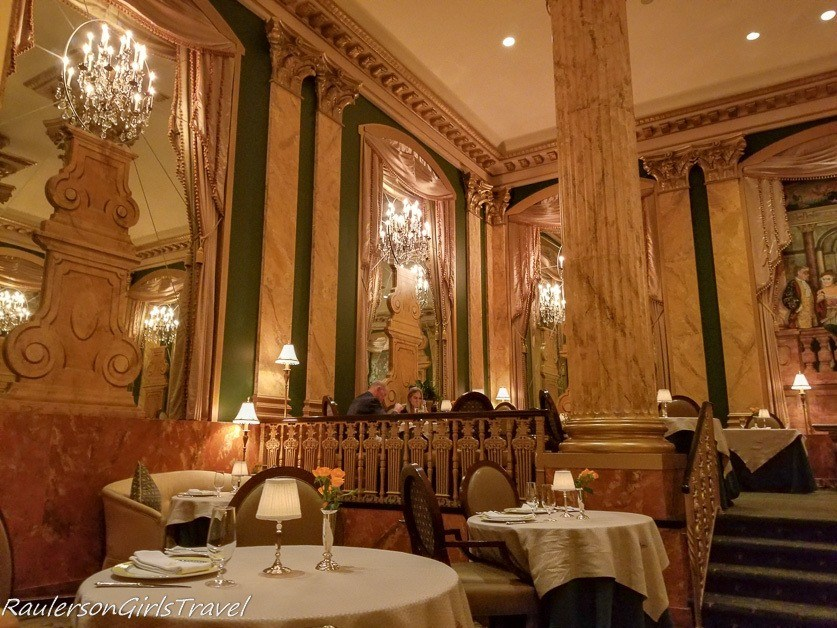 Chez Philippe restaurant at the Peabody Hotel