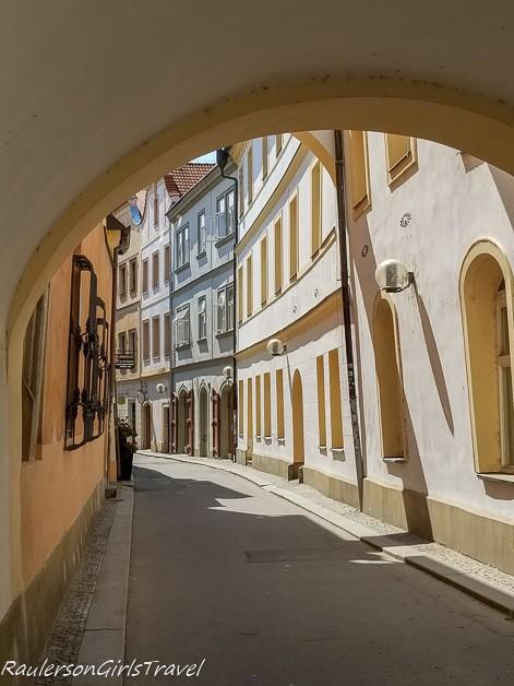 Pardubice alley