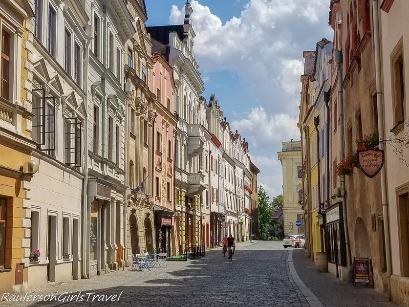 Pardubice street