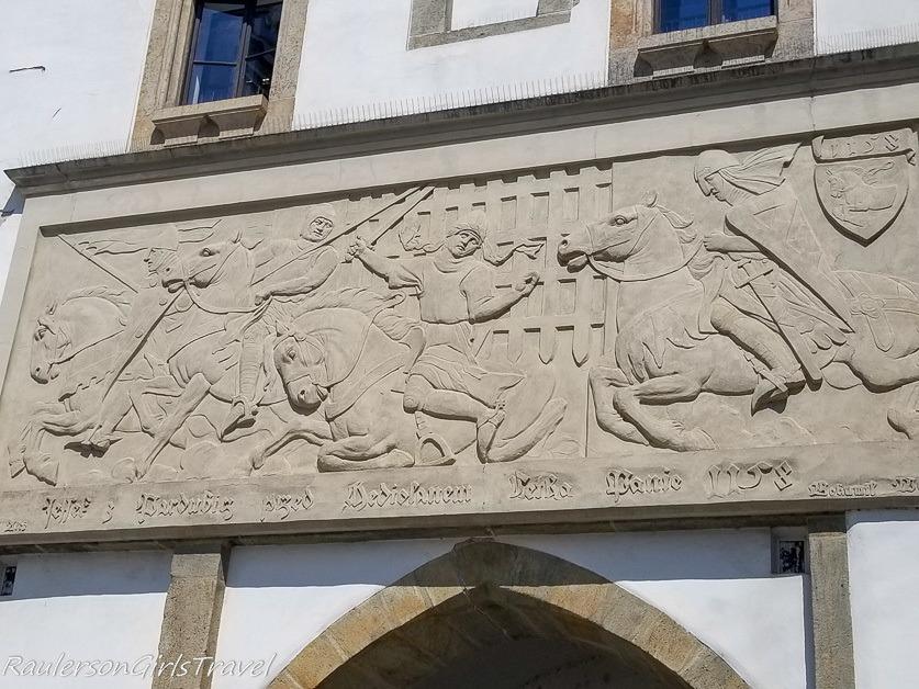 History of Pardubice horse emblem