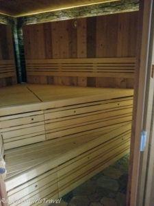 Golf & Spa Kunětická Hora dry sauna