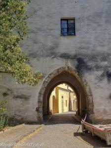 Pardubice Chateau gate