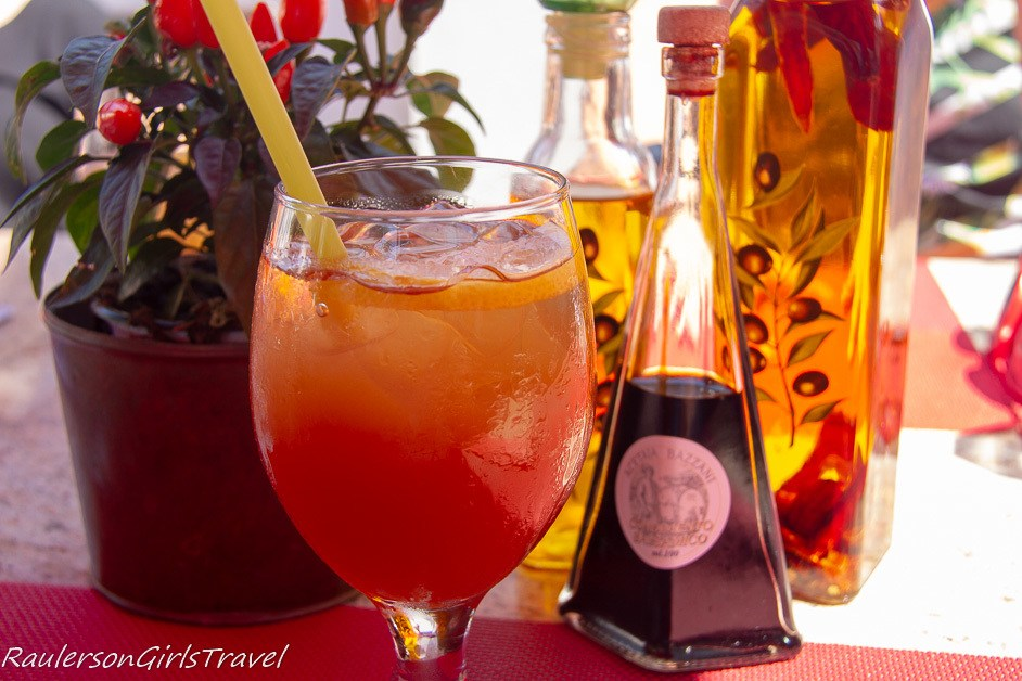 Strawberry Lemonade at ristorante da pepa