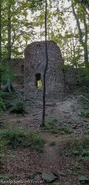 Castle ruins Oheb