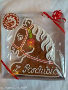 Pardubice Gingerbread horse