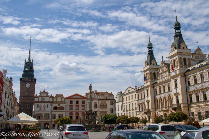 Pardubice Town Square - Day Trip from Prague